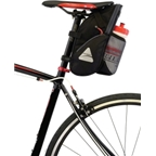 Axiom GranFondo H20 Seat Bag: Black/Gray