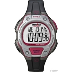 Timex Ironman Core 50-Lap Sleek Sport Watch: Full-Size; Black/Silver/Red