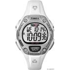Timex Ironman 30-Lap Watch: Mid-Size; White
