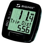 Sigma BC 5.12 Cycling Computer: Black