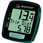 Sigma BC 8.12 Wired Cycling Computer: Black