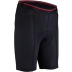 Bellwether Premium Undershort with Pad: Black