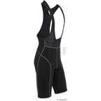 Ibex Arrivee Wool Bib Short: Black; MD