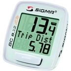 Sigma BC 8.12 ATS Wireless Cycling Computer: White