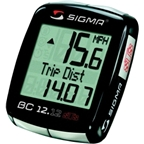Sigma BC 12.12 STS Wireless Cycling Computer: Black