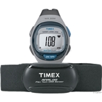 Timex Personal Trainer Analog Heart Rate Monitor: Gray/Blue