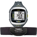 Timex Run Trainer 2.0 Fitness Computer with Heart Rate Monitor: Gray/Green