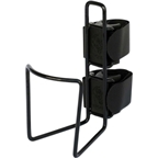 TwoFish QuickCage 40oz Water Bottle Cage: Vinyl Coated Black (No Bottle Included)