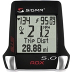 Sigma ROX 5.0 Triple Wireless Cycling Computer with Speed, Cadence and Heart Rate