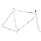 Surly Steamroller Track Frame Set - White