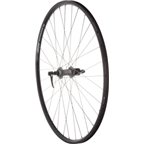 Quality Wheels Value Series 2 Road Rear Wheel 700c 32h Shimano 2400 Silver / Alex DC19 Black
