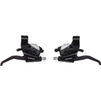 Shimano EF40-2S 3x8-Speed Brake/Shift Lever Set Black