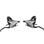 Shimano ST-EF65-2A 3x8-Speed Brake/Shift Lever Set Silver