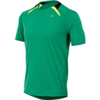 Pearl Izumi Fly Short Sleeve Top: Green