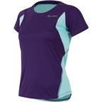 Pearl Izumi Women's Fly Short Sleeve Top: Blackberry