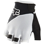 Fox Racing Reflex Gel Short-Finger Glove: White