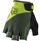 Fox Racing Reflex Gel Short-Finger Glove: Fatigue Green