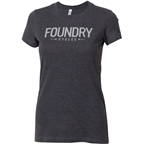 Foundry Cycles Women's Logo T-Shirt: Gray