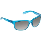 Native Roan Sunglasses: Glacier Frost with Gray Lens