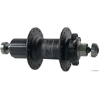 Atomlab Pimp Rear Hub, 9-Speed 10x135mm 6-Bolt Disc 32h Black *Bolts Not Included