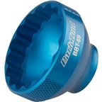 "Park Tool BBT-69 16 Notch 44mm Bottom Bracket Tool 3/8"" Drive, Blue"