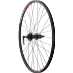 "Quality Wheels Mountain Disc Rear Wheel 26"" SRAM 406 6-bolt / WTB SpeedDisc Black"