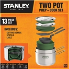 Stanley 2 Pot Prep + Cookset, 13 piece, Stainless Steel
