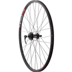 "Quality Wheels Mountain Disc Front Wheel 26"" SRAM 406 6-bolt / WTB SpeedDisc Black"