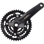 SR Suntour Crankset Xcm 9 speed 44/32/22 175mm Octalink, Black