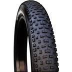 "Vee Rubber H-Billie Fat Bike Tire: 26 x 4.25"" 120tpi Folding Bead Silica Compound Black"