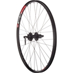 "Quality Wheels Mountain Disc Rear Wheel 26"" Deore 6-bolt / WTB SpeedDisc Black"