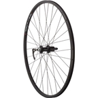 Quality Wheels Value Series 2 Road Rear Wheel 700c Formula 130mm / WTB DX17 Black