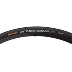 Continental Attack Comp Front Tubular 700 x 22  Black Foldable with Black Chili Rubber