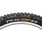 """Continental Trail King 29 x 2.4"""" ProTection Black Chili Rubber and APEX w/Folding Bead"""