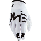 ONE Industries Zero Full Finger Glove: White