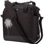 Detours Pike Place Pannier Bag: Sold as Each Black With Dahlia Flower