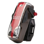 Light and Motion Vis 180 tail light, brown shugga