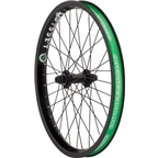Odyssey A+ Front Wheel Black Aerospace Rim Antigram Front Hub 3/8""