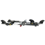 "Saris CycleOn Pro 1 1/4"" Receiver Locking Hitch Rack: 2-Bike"