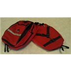 Jandd Mini Mountain Pannier Set: Red