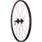 "Quality Wheels Mountain Disc Front Wheel 26"" Deore 6-bolt / WTB SpeedDisc Black"