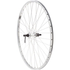 Quality Wheels Value XL Rear Wheel 700c Shimano 135mm Hub / Velocity NoBS Rim, Raw, 36h