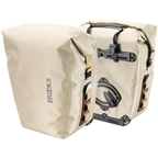 Brooks Land's End Rear Pannier with Ortlieb QL2 Attachment and Without Pocket - Desert