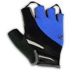 Serfas Men's Zen Short Finger Gloves - Blue - X-Large