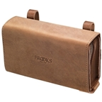Brooks D-Shaped Tool Bag - Tan Aged