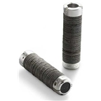Brooks Plump Leather Ring Grips - Black