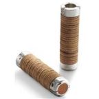 Brooks Plump Leather Ring Grips - Honey