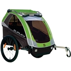 Burley D'Lite Child Trailer Green