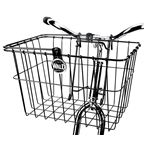 Wald 133GB Quick-Release Front Basket - Gloss Black