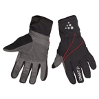 Craft Siberian Gloves - Black/Gray - Large